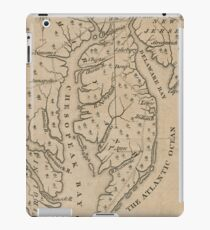 Vintage Map of The Chesapeake Bay (1769) iPad Case/Skin