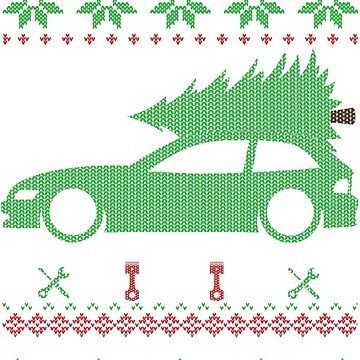 Z3 Coupe Christmas Ugly Sweater XMAS by glstkrrn
