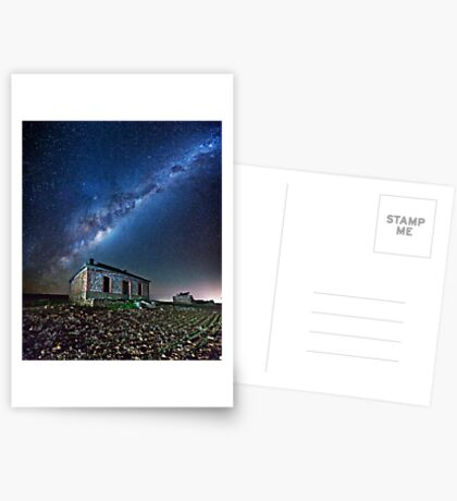 Burra North Ruin and Galaxy Greeting Card