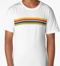 Thirteen 'Whittaker Rainbow' Shape Doctor T Shirt Pink Red Burgundy Long T-Shirt