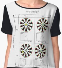#precision #accuracy #dartboard #pattern #dart #circle #symmetry #luck #fun #chance #design #illustration #symbol #horizontal #colorimage #bright #copyspace #inarow #artsculture #entertainment Chiffon Top
