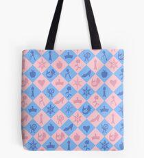 Fantastical Fairytale Pattern Tote Bag