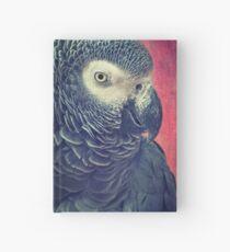 Gray Parrot Hardcover Journal