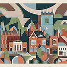 Moseley Village von Brumhaus