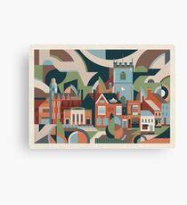 Moseley Village Canvas Print