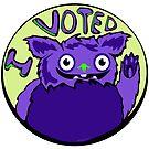 Monster Vote by elledeegee