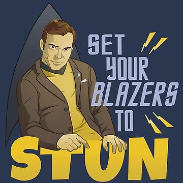 Set Your Blazers to Stun by powersdesign