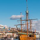 The Matthew on Bristol's Harbourside by Carolyn Eaton
