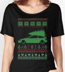 CRX Christmas Ugly Sweater XMAS Women's Relaxed Fit T-Shirt