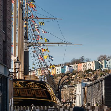 The SS Great Britain on Bristol's Harbourside by CarolynEaton