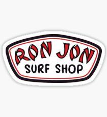 RJ Surf Shop Klassisches Logo Sticker