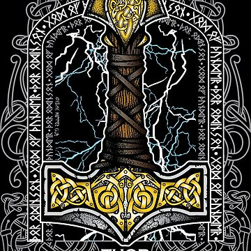 Thor Odinson, God of Thunder (Full Color) by celthammerclub