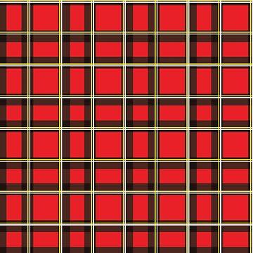 Red Tartan  by Real-Digital
