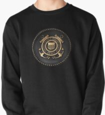 US Coast Guard Emblem T-Shirt Pullover