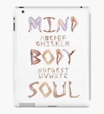 Mind Body Soul iPad Case/Skin