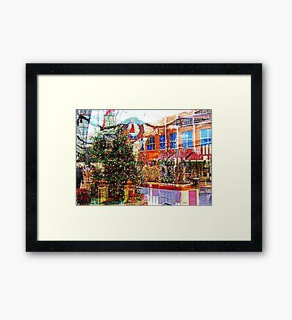 Christmas Inside outside  Framed Print