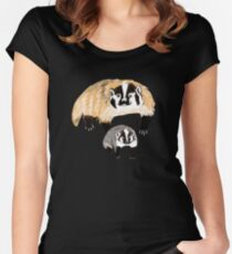 Badger mommy Women's Fitted Scoop T-Shirt