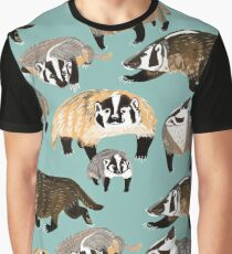 Badger mommy Graphic T-Shirt