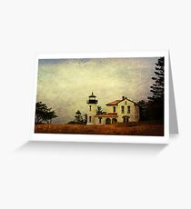 Admiralty Head Lighthouse - Whidbey Island Greeting Card