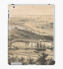 Vintage Pictorial Map of Brooklyn NY (1855) iPad Case/Skin