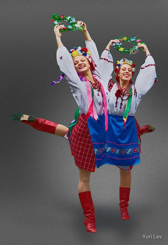 Ukrainian Dancers by Yuri Lev