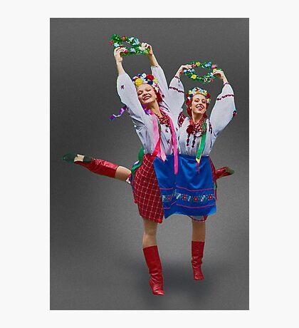 Ukrainian Dancers Photographic Print