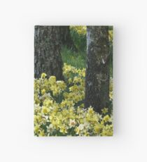 Spring Daffodils Hardcover Journal