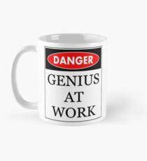 Danger - Genius at work Mug