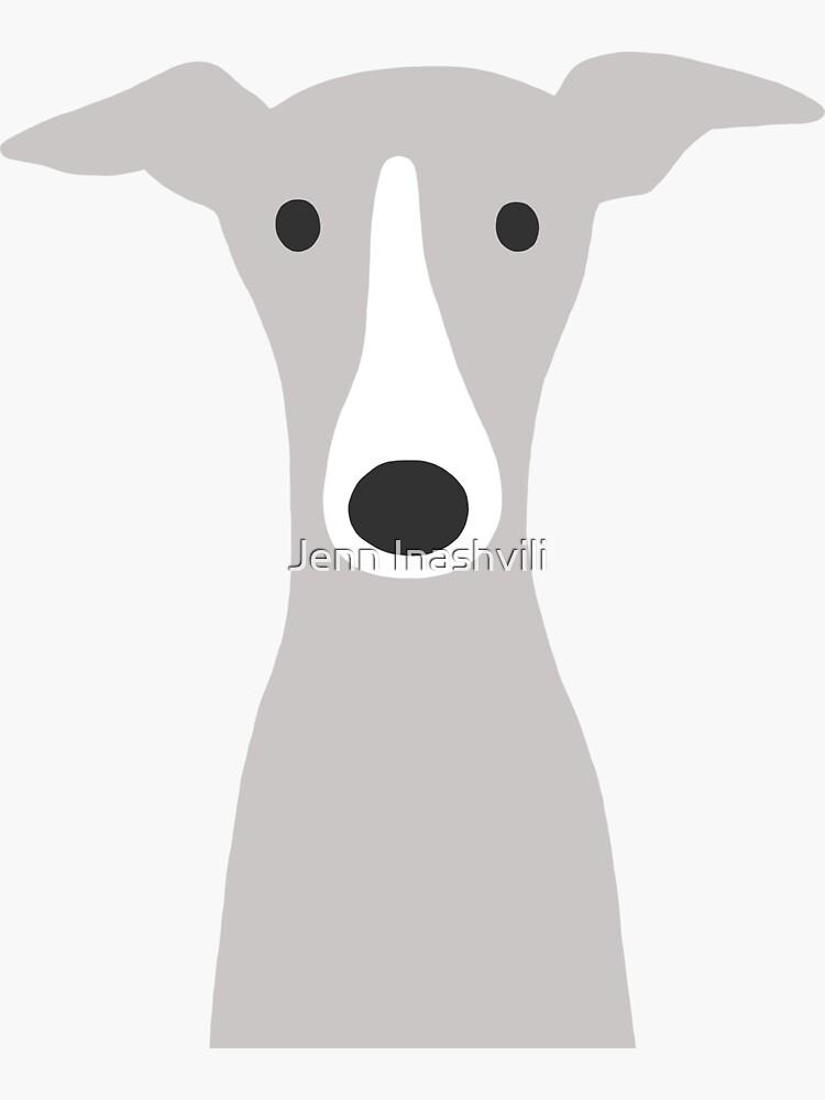 Greyhound / perro lindo galgo italiano de ShortCoffee