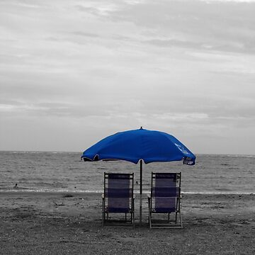 Blue Umbrella by GQ1NYC