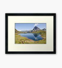 an inspiring Andorra landscape Framed Print