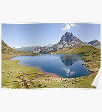 an inspiring Andorra landscape Poster