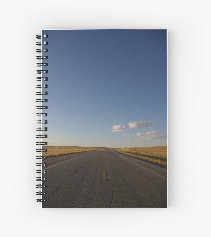 Thunderbasin Highway, Wyoming by Kathleen Madrid
