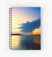 Sunset Lagoon Spiral Notebook