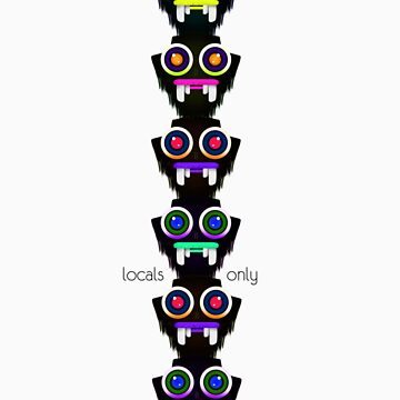 Tribalism Totem: Locals by -NH-