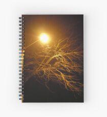 Lighting The Dark Sky Spiral Notebook
