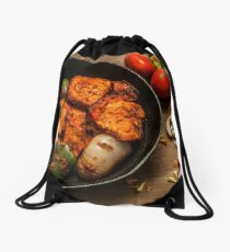 Paneer Tikka Drawstring Bag