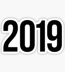 2019 Sticker