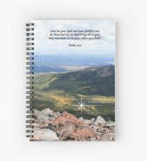Celebrating Christ Summit Story Image with Psalm Spiral Notebook