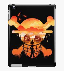 Einteiliges Logo iPad-Hülle & Skin