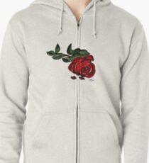 Fallen Rose Trans BG Zipped Hoodie
