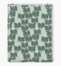 A Skulk of Foxes in Cool Tones iPad Case/Skin