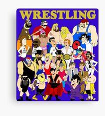 Hannah-Barbarian Memphis Wrestling All-Stars Canvas Print