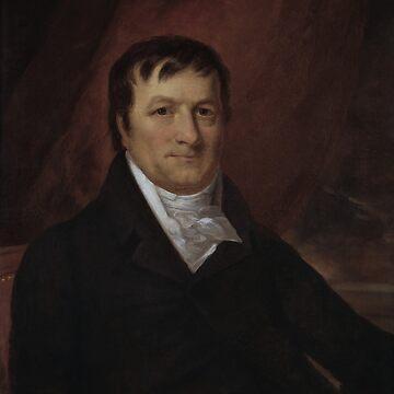 John Jacob Astor Portrait - By John Wesley Jarvis by warishellstore
