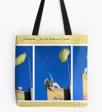 The locals of Lady Robinsons Beach  Tote Bag