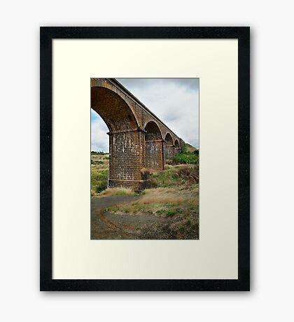 Railway Bridge, Malmsbury Victoria Framed Print