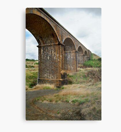 Railway Bridge, Malmsbury Victoria Metal Print
