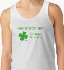 Osculate Me, I'm Irish & Nerdy Tank Top