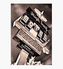 High Surf Motel Photographic Print