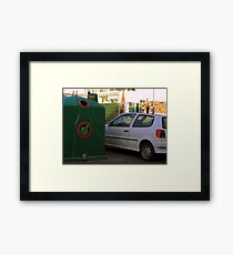Easy-going or inventive? Framed Print